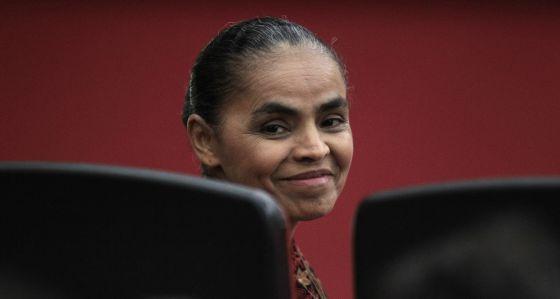 La probable candidata por el PSB, Marina Silva.