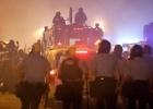 Siguen las protestas tras el toque de queda en Ferguson