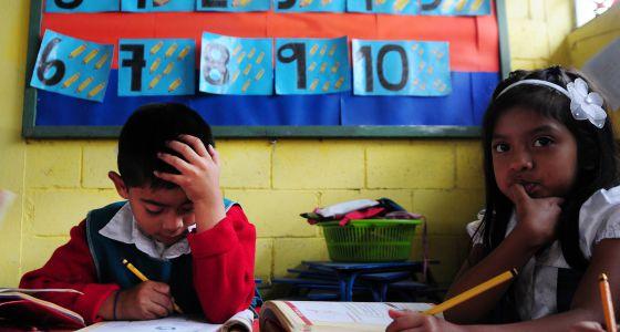 Un 94% de los niños de la región van a la escuela.