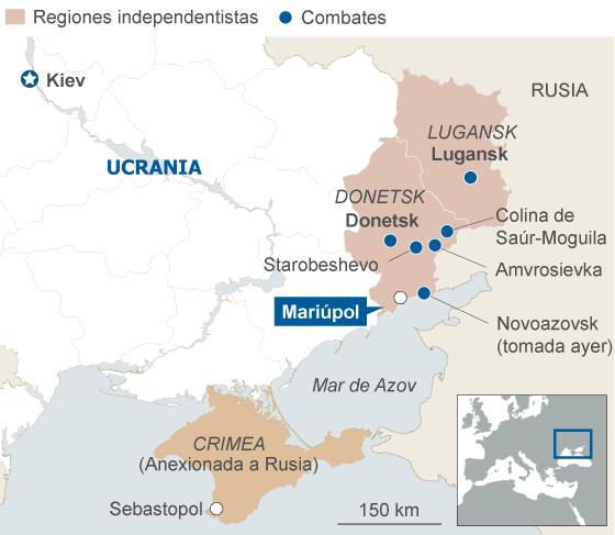La Alianza Atlántica alerta del avance ruso en Ucrania