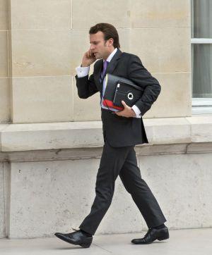 El nuevo ministro de Economía francés, Emmanuel Macron.