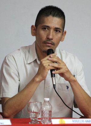 Rogelio Anaya, uno de los afectados por torturas de la policía mexicana.