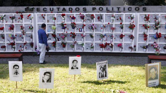 Monumento a los detenidos desaparecidos en Chile.