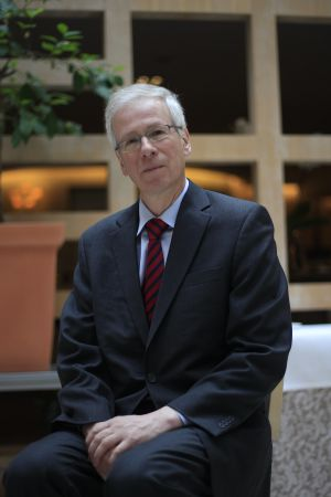 El diputado Stéphane Dion, en 2013, en Madrid.