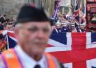 Protestantes radicales marchan en Escocia contra la independencia