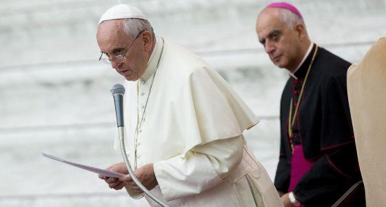 El papa Francisco en el Vaticano el viernes.