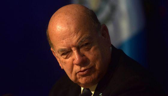 José Miguel Insulza, secretario general de la OEA.
