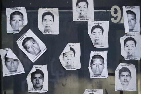 Alumnos de Ayotzipan desaparecidos