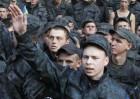 Soldados ucranios protestan en Kiev y exigen ser desmovilizados