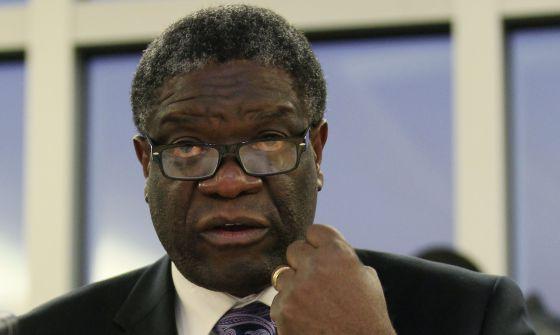 El ginecólogo congoleño Denis Mukwege.