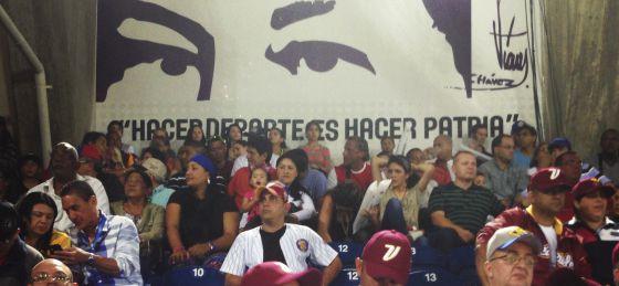 El estadio de béisbol de Nueva Esparta, en Isla Margarita.