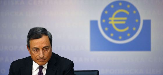 El presidente del BCE, Mario Draghi, a principios de septiembre.