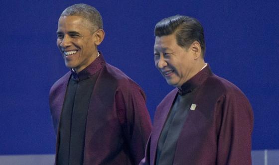 Barack Obama y Xi Jinping, el lunes en la cumbre de Asia-Pacífico
