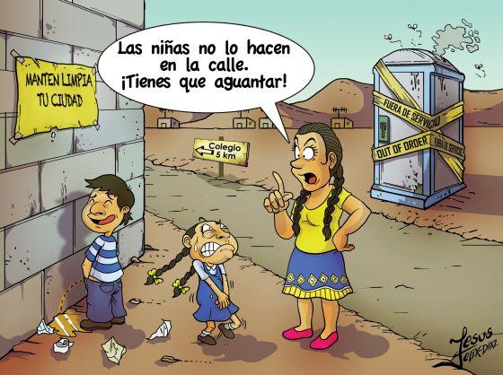 Un dilema de Latinoamrica una televisin o un bao con inodoro