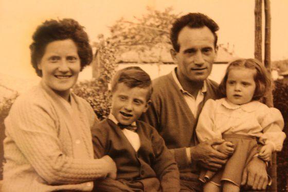 Familia amputada: después del amianto, solo quedan Romana y su hijo Ottavio.
