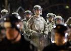 El refuerzo militar reduce los disturbios en Ferguson