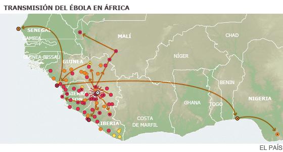 Cuando el ébola salió del bosque