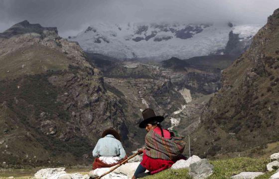Reserva natural del Huascarán, en Los Andes.