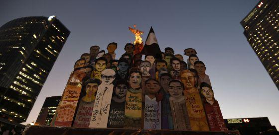 Ayotzinapan - Magazine cover