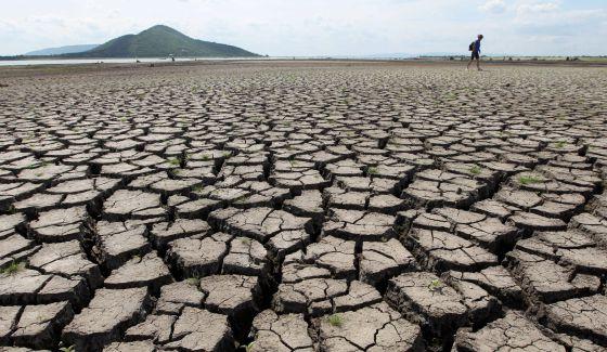 Sequía en Tailandia, a 190 kilómetros de Bangkok.