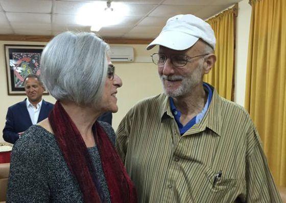 Alan Gross y su mujer, Judy Gross.