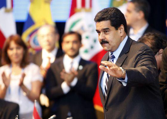 Maduro, en la cumbre de Mercosur