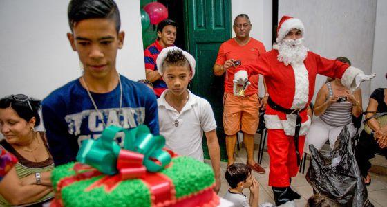 Una fiesta de cumpleaños en La Habana
