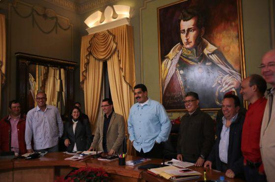 Un acto del Gobierno de Maduro el 22 de diciembre