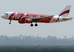 Airbus A320 de AirAsia antes de aterrizar en Kuala Lumpur en julio.