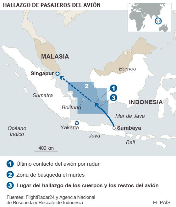 Recuperados varios cadáveres de pasajeros del avión desaparecido