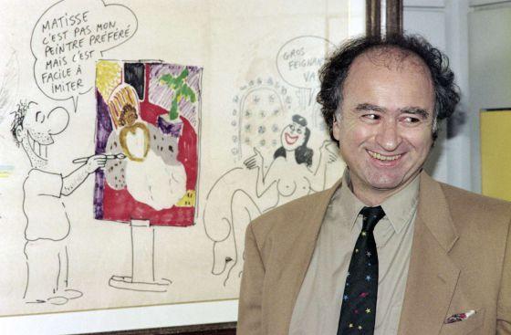 George Wolinski en 1990.