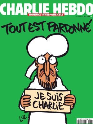 Portada del semanario 'Charlie Hebdo'.