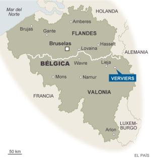 Dos terroristas muertos en Bélgica en una operación contra el yihadismo