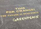 Perú pide cárcel para un activista de Greenpeace por la acción en Nazca