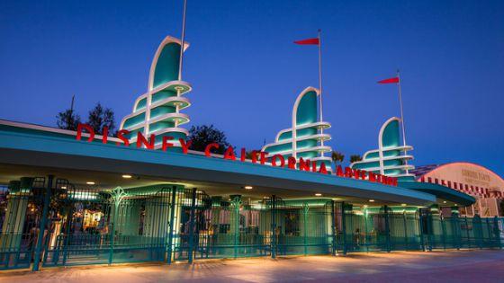 Imagen promocional del parque Disney California Adventure.