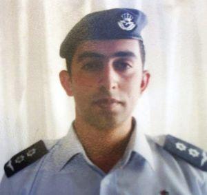 El piloto, Moaz al Kasasbeh.