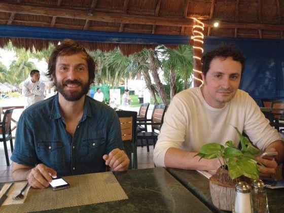 Luis Delgado y José Antonio Fernández.