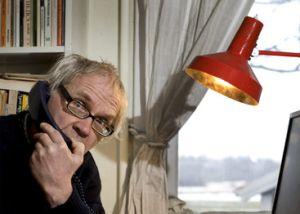 Vilks, en en su domicilio de Nyhamnslage (Suecia), en 2010.  Efe