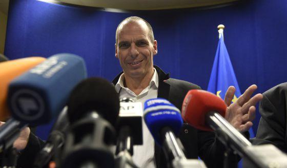 Schäuble y Varoufakis