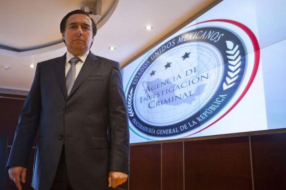 Tomás Zerón, director de la Agencia de Investigación Criminal.