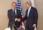 Kerry amenaza a Lavrov con más sanciones si se viola el alto el fuego