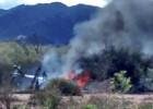 Diez muertos al chocar dos helicópteros en Argentina