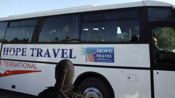 Turistas que sobrevivieron al atentado de Túnez.