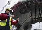 El segundo sarcófago de Chernóbil aún necesita 85 millones de euros