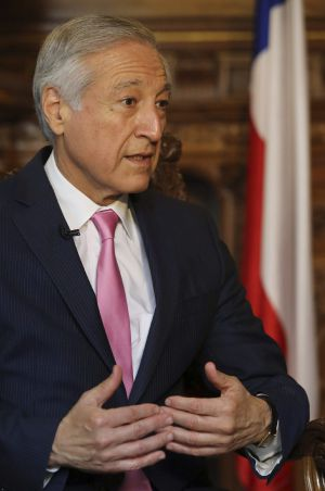 Heraldo Muñoz, canciller de Chile.