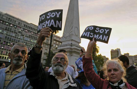 Caso Nisman: protestas en Buenos Aires