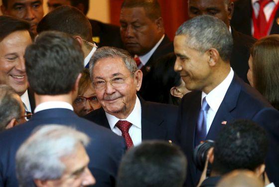 Obama y Castro dejan atrás el conflicto que dividió América