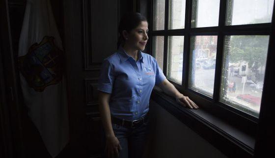Norma Leticia Salazar Vázquez, alcaldesa del PAN en Matamoros.