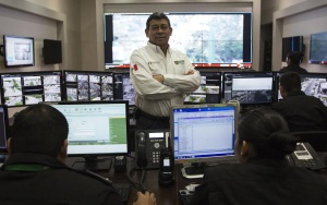 El general Arturo Gutiérrez, secretario de seguridad pública en Tamaulipas.