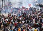 Más de 200 heridos en una protesta de profesores en Brasil